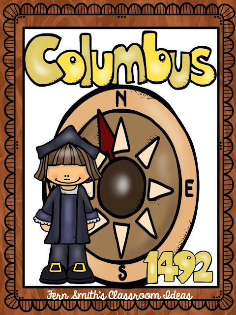 Fern Smith's Classroom Ideas Tuesday Teacher Tips: Columbus Day Resources including a FREEBIE!