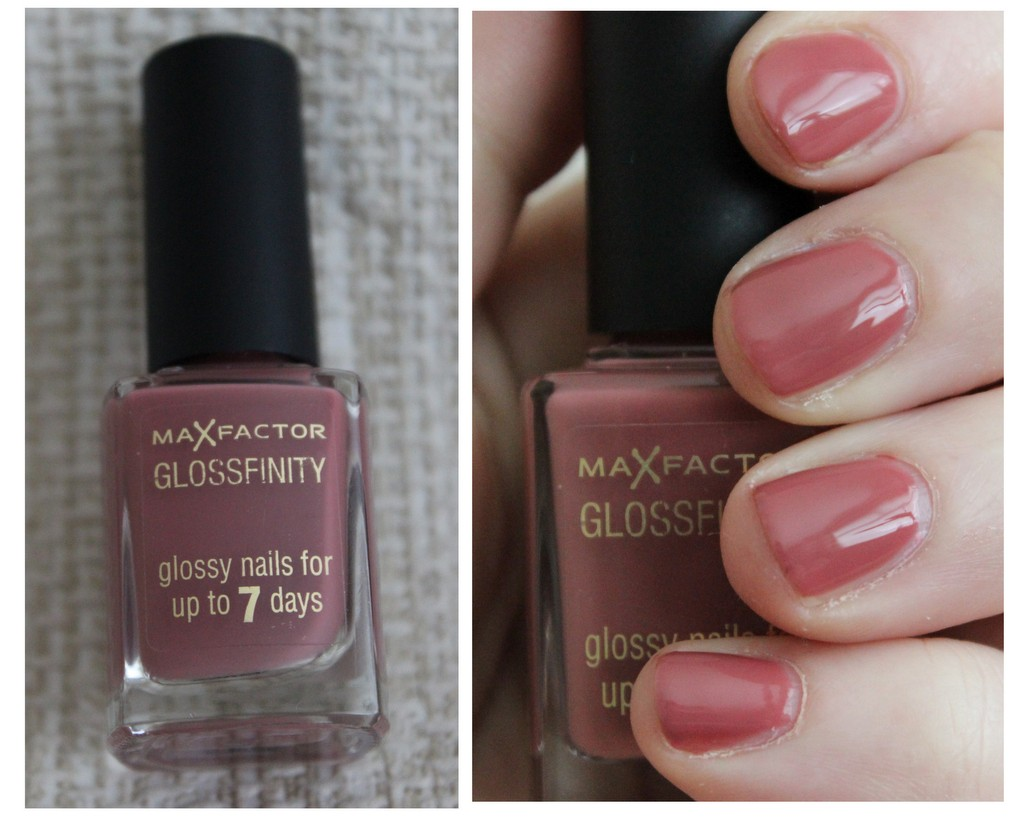 Max Factor Glossfinity Nail Polishes - review, photos, swatches ...