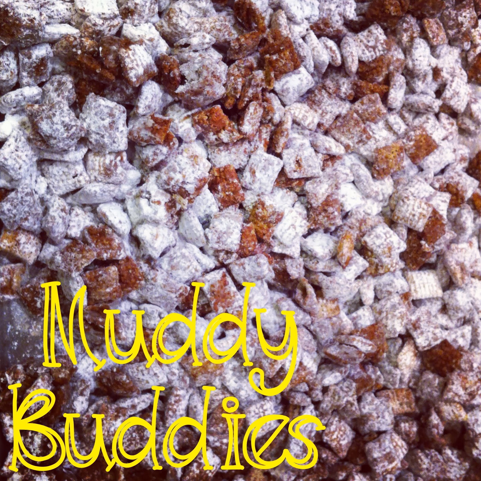 ... Book: Muddy Buddies aka Gluten Free Chocolate Peanut Butter Chex Mix