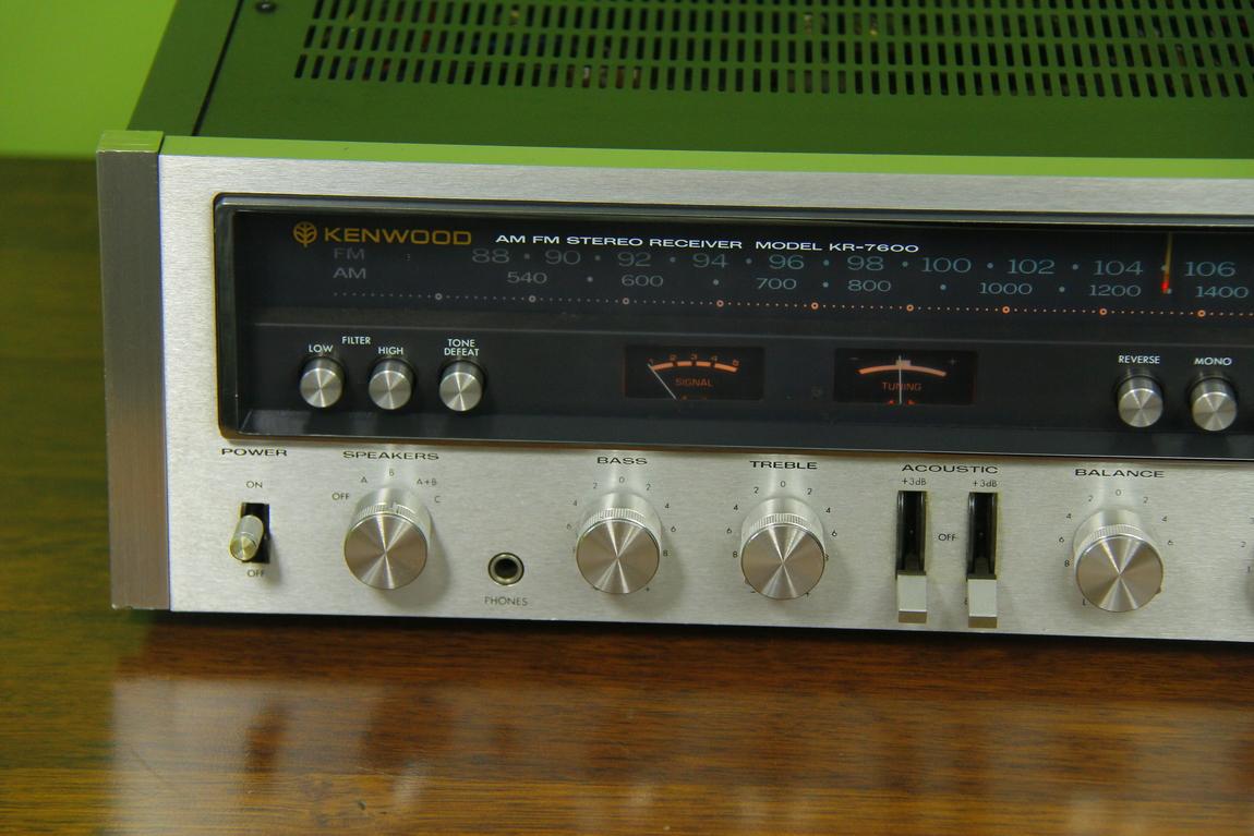 kenwood kr 7600 stereo receiver audiobaza. Black Bedroom Furniture Sets. Home Design Ideas
