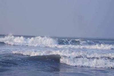 Landscape of Cox's Bazar Beach
