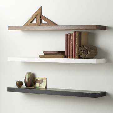 Floating Shelves - DIY Woodworking Projects