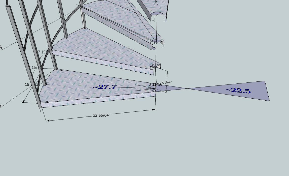 Artisan Design Metal Spiral Stairs