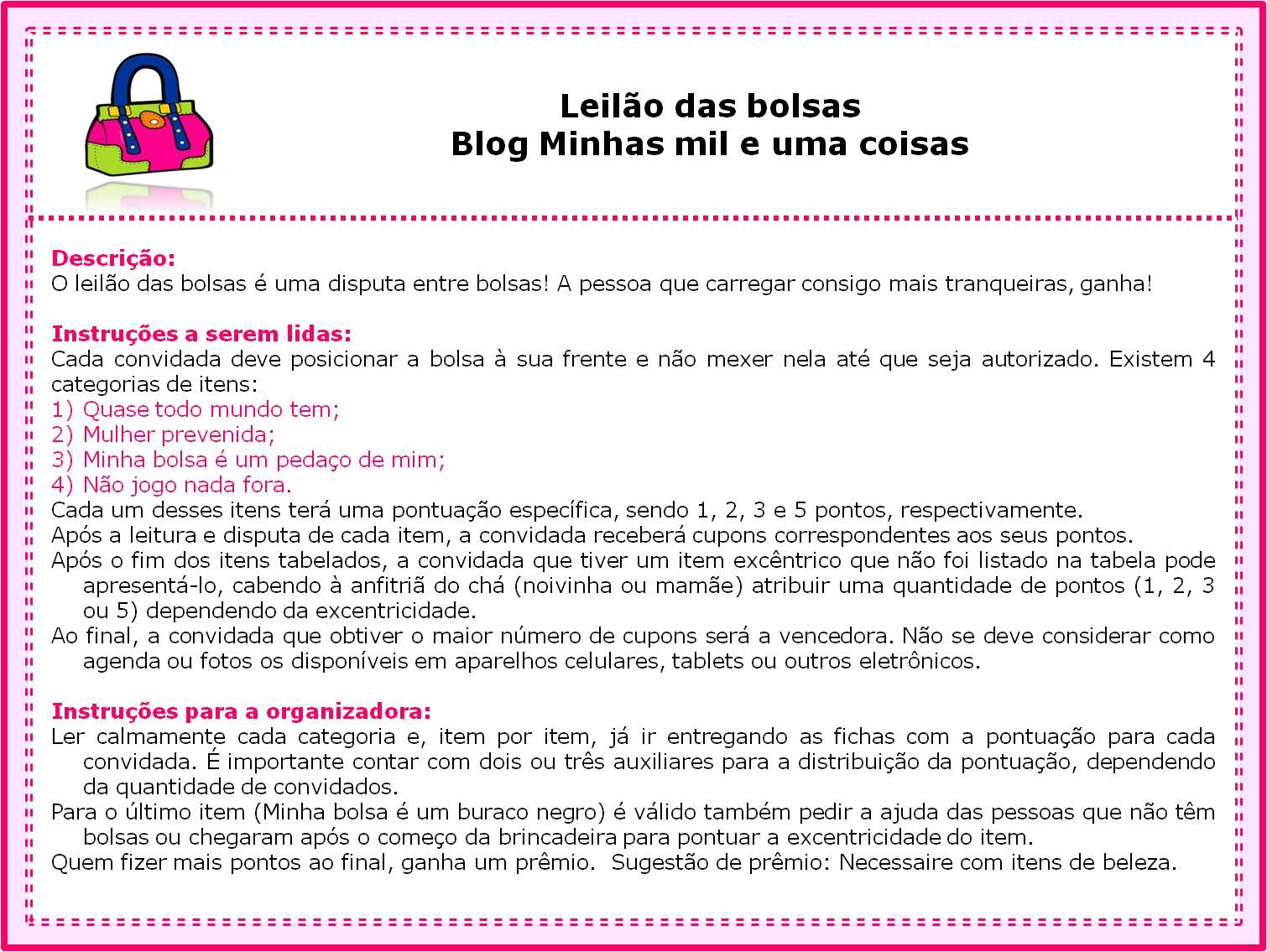 Top Minhas mil e uma coisas: Ideias para Chá de Cozinha ou de Bebê NB48