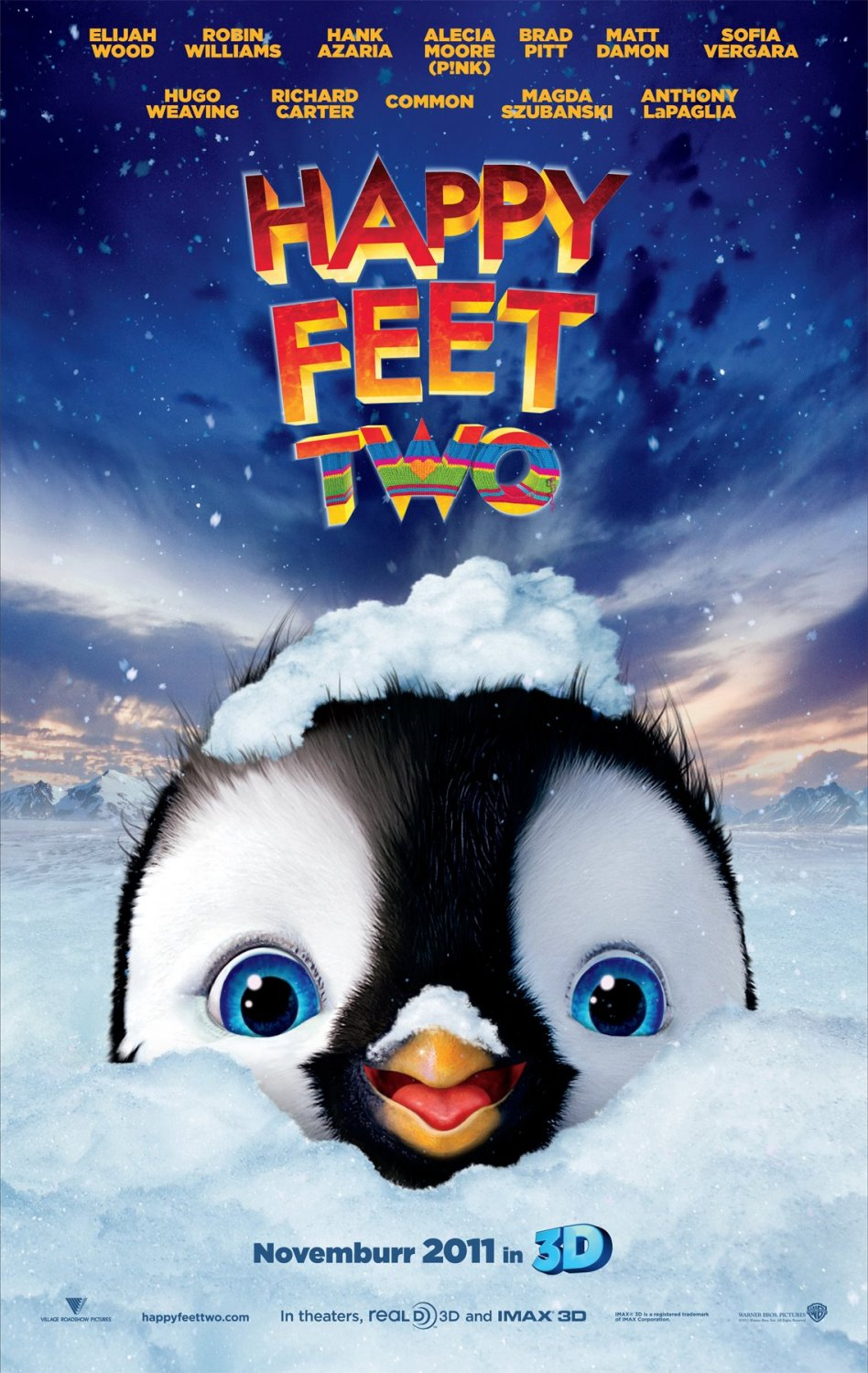 Movie News : Happy Feet 2 Official Trailer And poster 2011