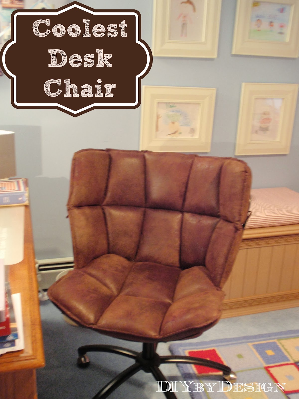 Coolest Desk diydesign: coolest desk chair ever!