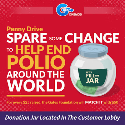 Help Rotary and the Gates Foundation End Polio Around the World