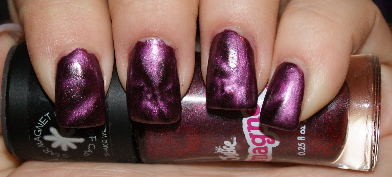 Princess Polish: Swatch and Review: Justice Magnetic Polish in ...