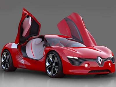 car Renault DeZir Concept autoart