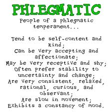 what is phlegmatic