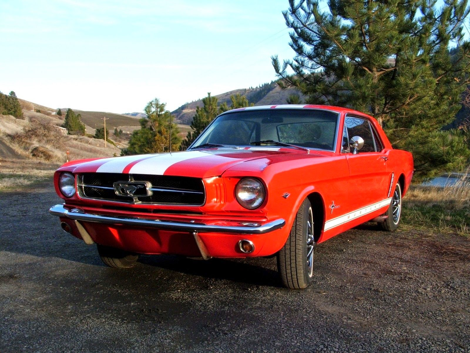 All American Classic Cars 1965 Ford Mustang 2 Door Hardtop