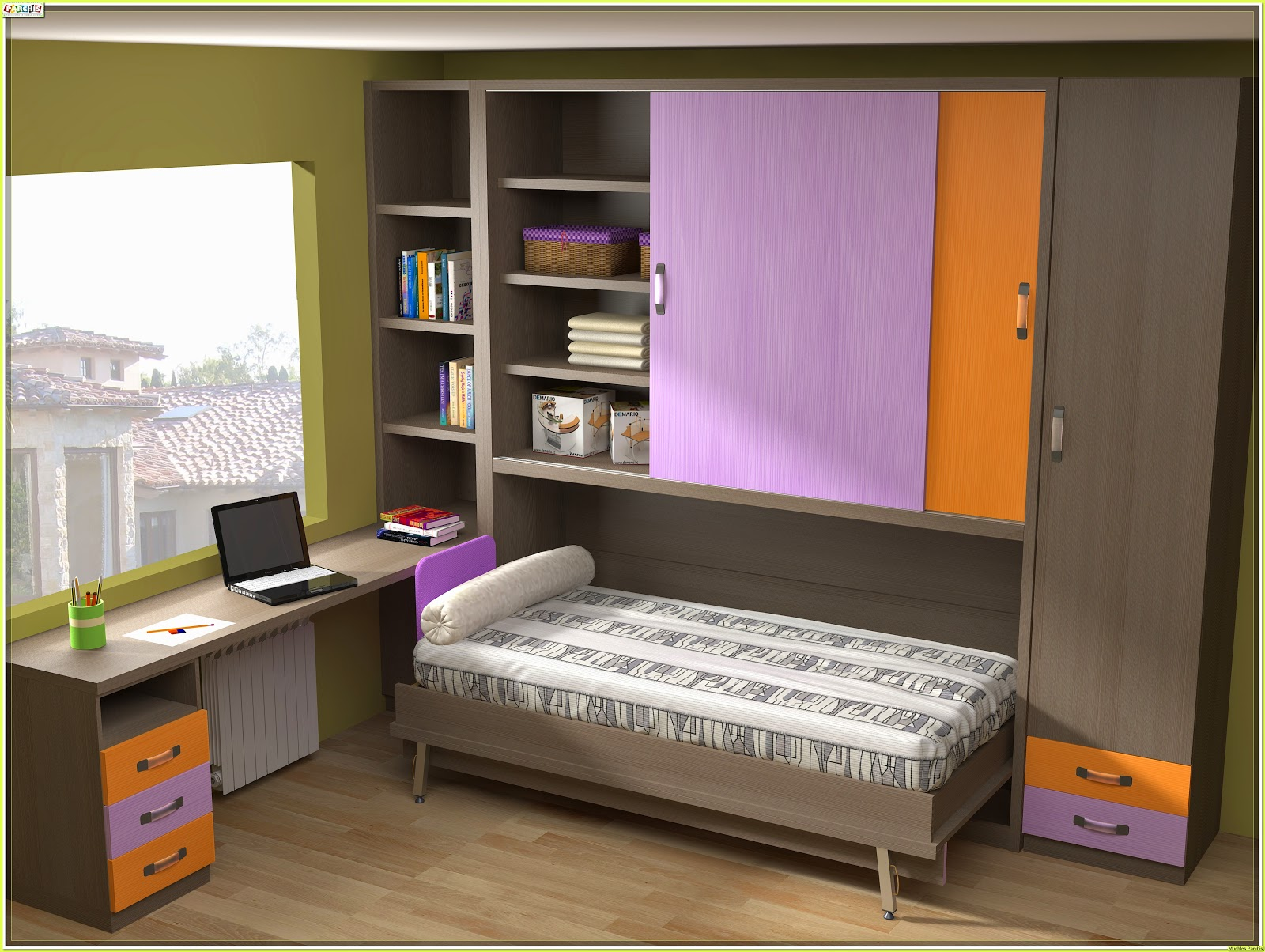 Muebles bibliotecas infantiles y juveniles 20170712192527 for Muebles y dormitorios