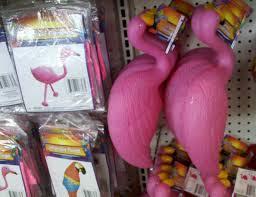 plastic pink flamingo dollar store