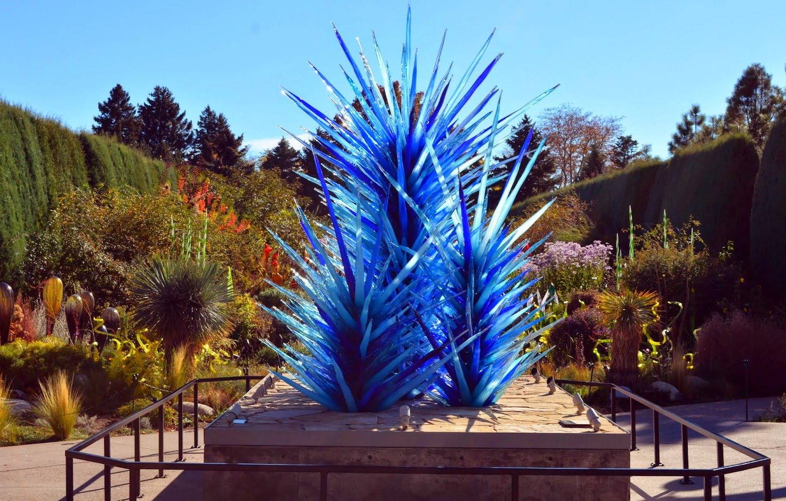 Mille Fiori Favoriti Chihuly Exhibit At The Denver Botanic Garden