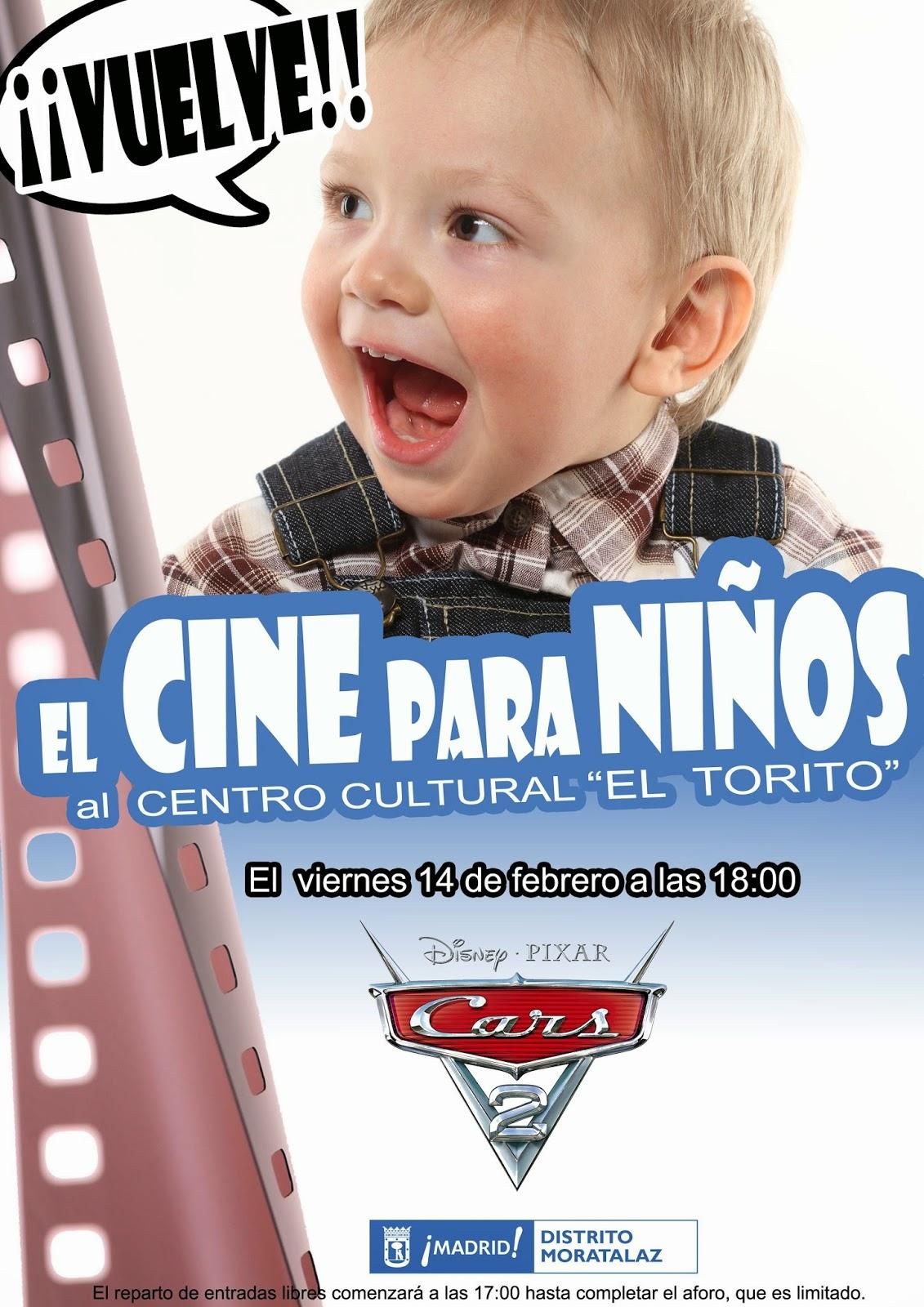 El cine para niños vuelve a Moratalaz.