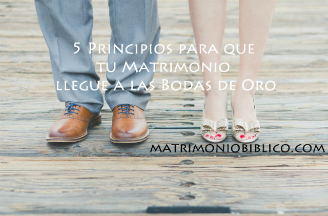 5 principios para que tu matrimonio funcione