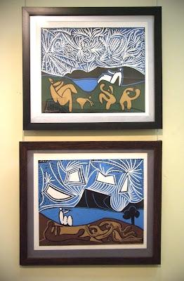 П. Пикассо. Bacchanale