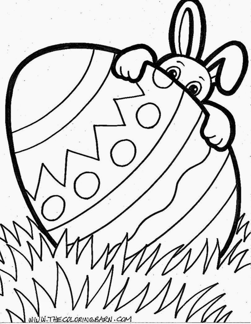 Free easter coloring pages for toddlers - Easter Coloring Pages