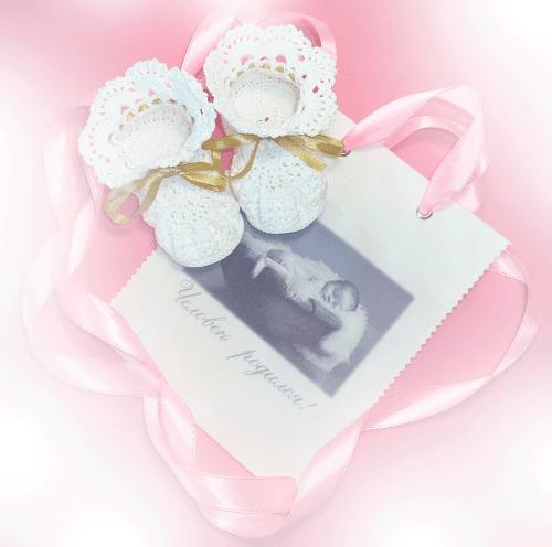 Что связать в подарок новорожденному