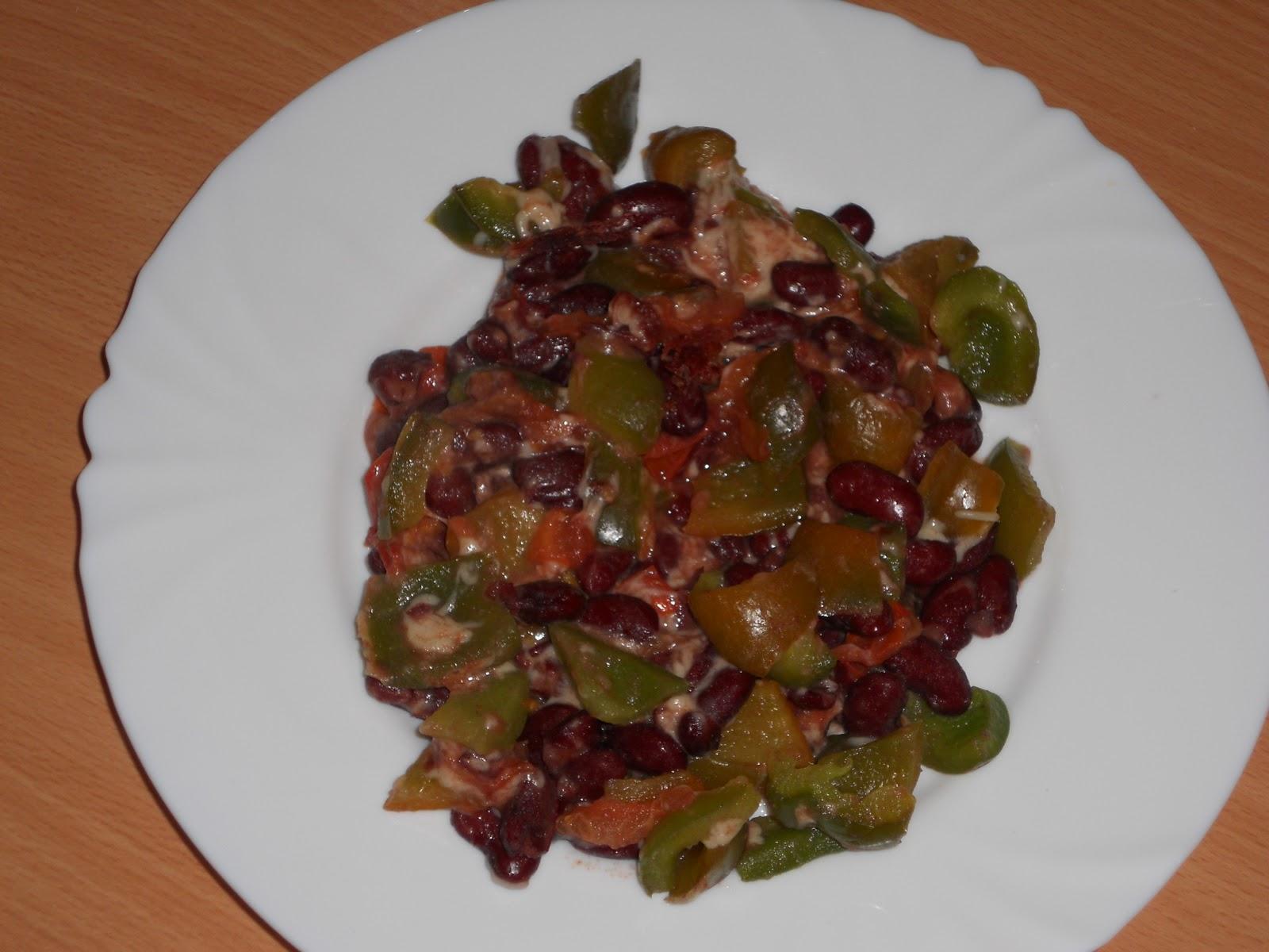 Ma cuisine tudiante po l e de haricots rouges et poivron au gruy re - Comment cuisiner les haricots rouges ...
