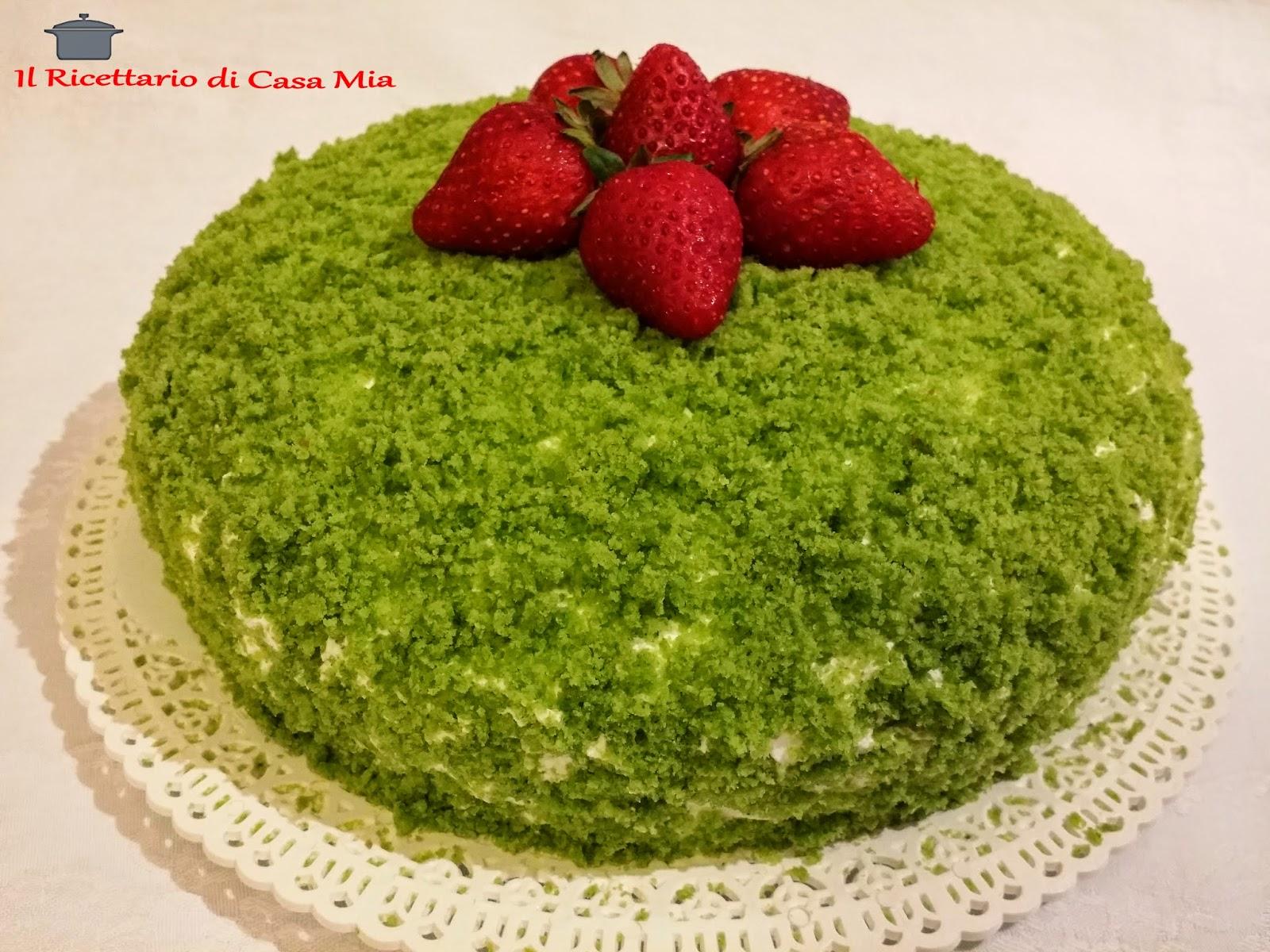 Il ricettario di casa mia green cake for Come ottenere progetti di casa mia