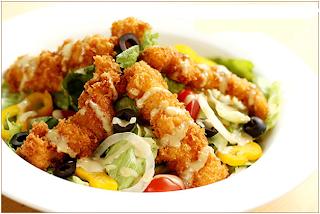 Cách làm Salad gà chiên ngon nhất