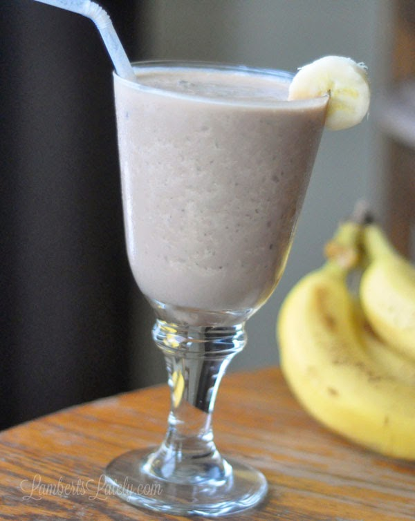 Chunky Monkey Breakfast Smoothie