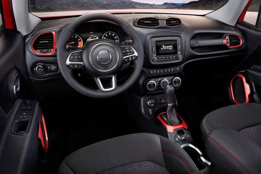 Jeep Renegade Trailhawk (2015) Dashboard