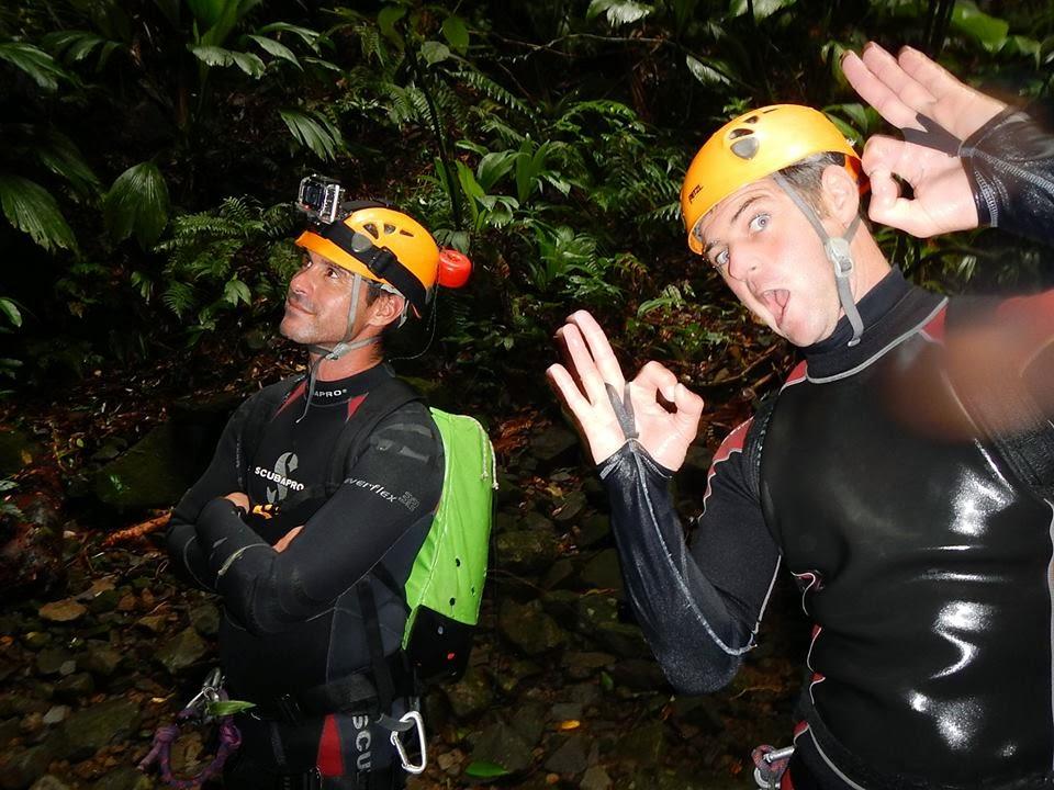 Canyoning Guadeloupe