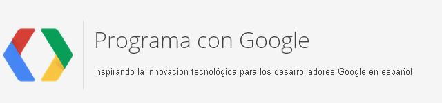 Programa con Google
