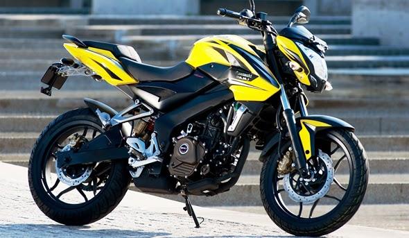 Brosur Simulasi Cicilan Angsuran Harga Kredit Motor Kawasaki Bajaj Pulsar 200NS Terbaru 2014