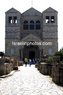 Israel Travel Guide - Christian Holy Places: Church of the Transfiguration (Mount Tabor)