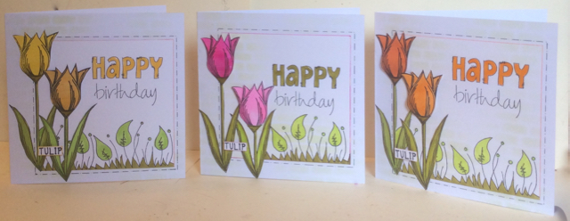 cards by Clare Chervil  Paperartsy lin brown JOFY