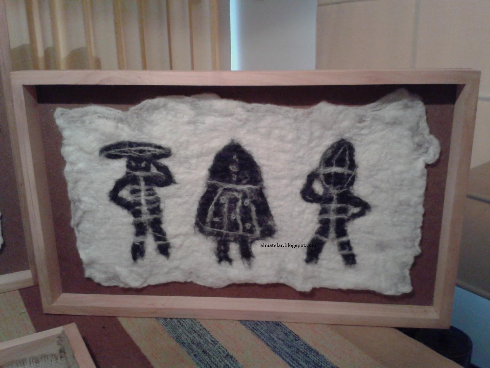 almatelar murales y tapices: Tapices enmarcados