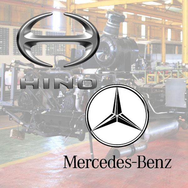 compare] Mercedes Benz OH-1526 VS Hino RK8 R260 Terbaru KAROSERI ...
