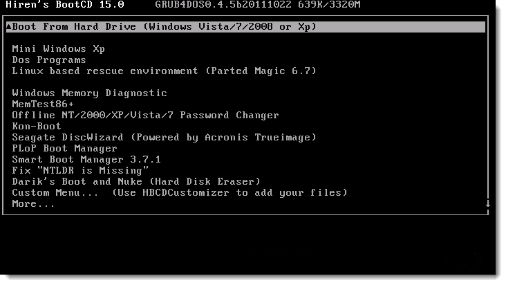 Cara Menggunakan Hiren's BootCD   OneWay Computer