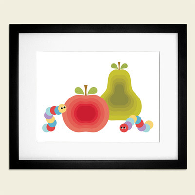 Otobi Apple and Pear print