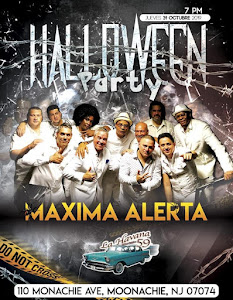 Halloween Party with MAXIMA ALERTA