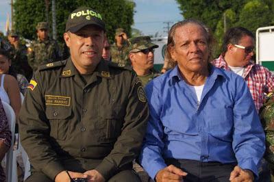 Teniente Coronel Héctor Reinaldo Triviño Reyes y kapax