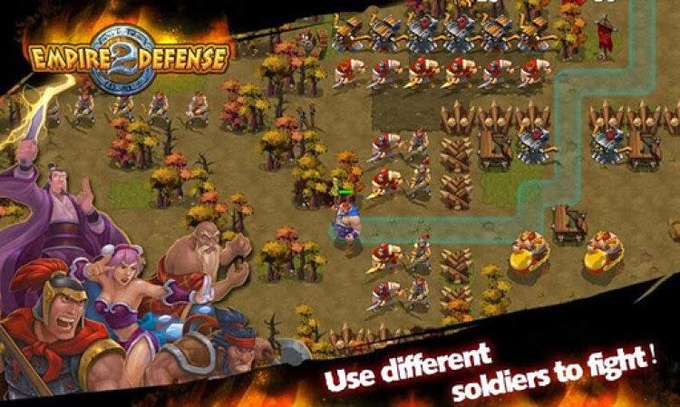 صورة من لعبة الدفاع عن المملكة Empire Defense II