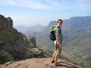Hiking at Big Bend National Park, TX