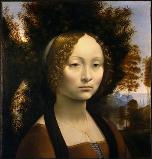 Ginevra de' Benci, por Leonardo da Vinci