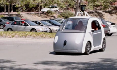 Google's automatic, self-driving car