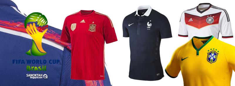 Jersey / Jersi Piala Dunia 2014