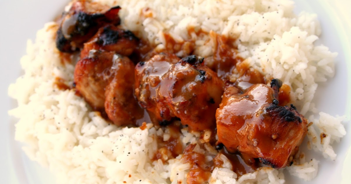 For the Love of Food: Chicken Satay and Peanut Sauce with Coconut Rice