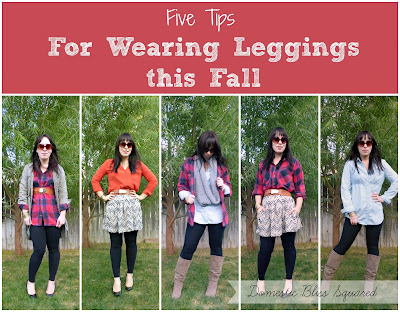 five tips for wearing leggings