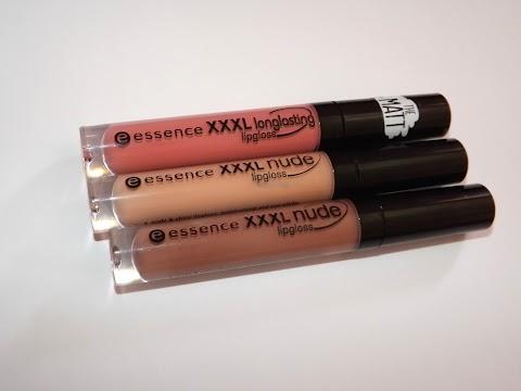 Essence XXXL nude/longlasting lipgloss + Etos lipliner