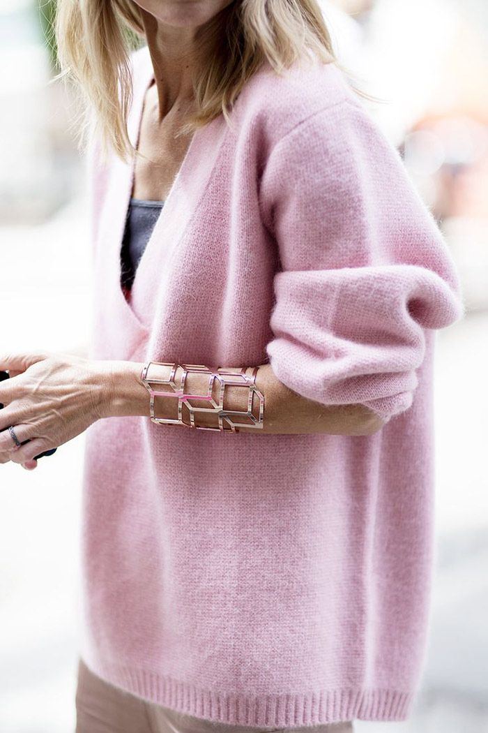 fall fashion inspiration, pink sweater, pastels