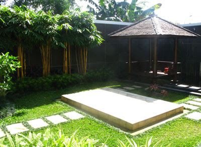 Desain Kebun Rumah on Model Taman Tropis Rumah Modern Jpg