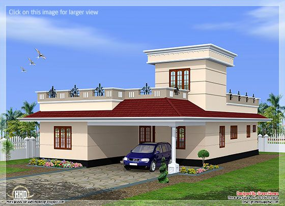 1600 Square Feet Budget Home Design Kerala House